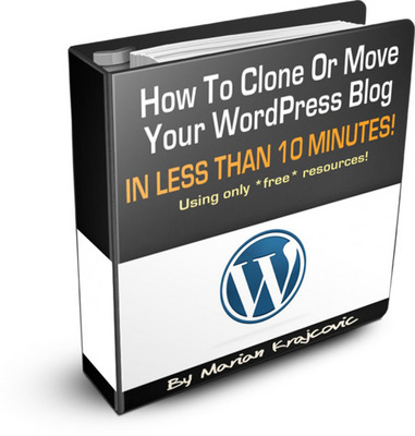 Product picture Clone Your WordPress Blog + Gift