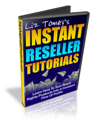 Product picture Instant Reseller Tutorials + Gift