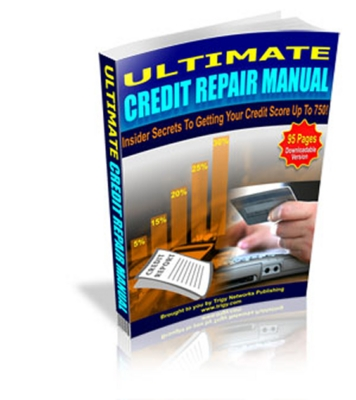 Product picture Ultimate Credit Repair Manual + Gift
